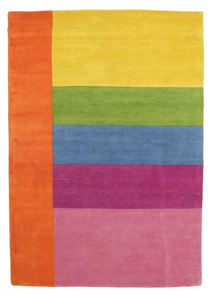 Colors By Meja Handtufted Χαλι 160X230 Σύγχρονα Πορτοκαλί/Ανοιχτό Ροζ (Μαλλί, Ινδικά)