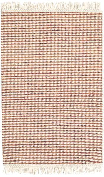 Medium Drop - Στο Χρώμα Της Σκουριάς/Πορτοκαλί Mix Χαλι 120X180 Σύγχρονα Χειροποίητη Ύφανση Μπεζ/Σκούρο Κόκκινο (Μαλλί, Ινδικά)