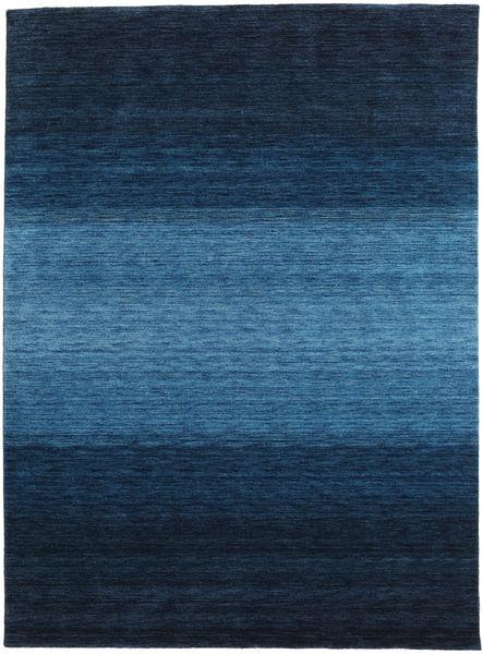 Γκάμπεθ Rainbow - Μπλε Χαλι 210X290 Σύγχρονα Σκούρο Μπλε/Μπλε (Μαλλί, Ινδικά)