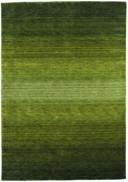 Γκάμπεθ Rainbow - Λαδί Χαλι 160X230 Σύγχρονα Σκούρο Πράσινο/Λαδί (Μαλλί, Ινδικά)