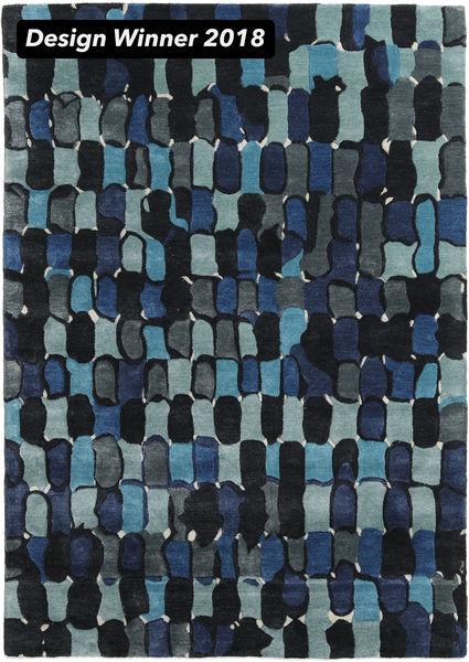 In The Woods - 2018 Χαλι 160X230 Σύγχρονα Σκούρο Μπλε ( Ινδικά)