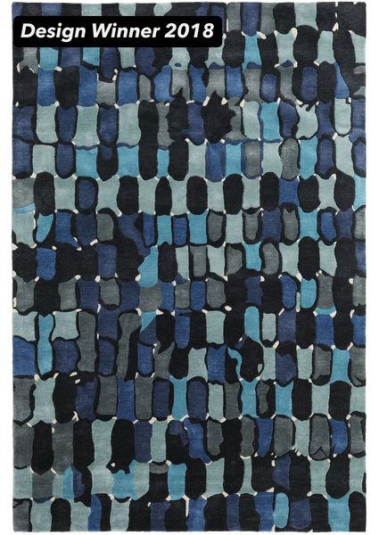 In The Woods - 2018 Χαλι 200X300 Σύγχρονα Σκούρο Μπλε/Μπλε ( Ινδικά)