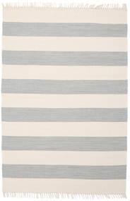 Cotton Stripe - Steel Grey Χαλι 140X200 Σύγχρονα Χειροποίητη Ύφανση Μπεζ/Ανοιχτό Γκρι (Βαμβάκι, Ινδικά)