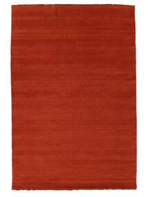 Χειροκίνητου Αργαλειού Fringes - Στο Χρώμα Της Σκουριάς/Κόκκινα Χαλι 160X230 Σύγχρονα Στο Χρώμα Της Σκουριάς/Πορτοκαλί (Μαλλί, Ινδικά)