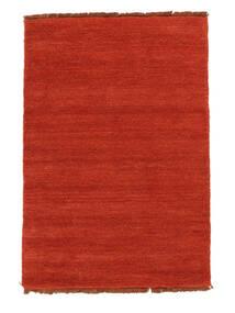 Χειροκίνητου Αργαλειού Fringes - Στο Χρώμα Της Σκουριάς/Κόκκινα Χαλι 140X200 Σύγχρονα Στο Χρώμα Της Σκουριάς (Μαλλί, Ινδικά)