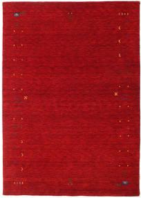 Γκάμπεθ Loom Frame - Κόκκινα Χαλι 160X230 Σύγχρονα Kόκκινα/Σκούρο Κόκκινο (Μαλλί, Ινδικά)
