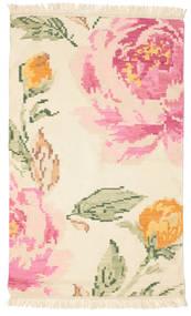 Κιλίμ Καραμπάχ Sofia - Μπεζ/Off-White Χαλι 100X160 Σύγχρονα Χειροποίητη Ύφανση Μπεζ/Ανοιχτό Ροζ (Μαλλί, Ινδικά)