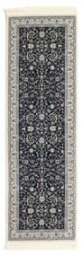Nain Florentine - Σκούρο Μπλε Χαλι 80X250 Ανατολής Χαλι Διαδρομοσ Σκούρο Γκρι/Ανοιχτό Γκρι ( Τουρκικά)