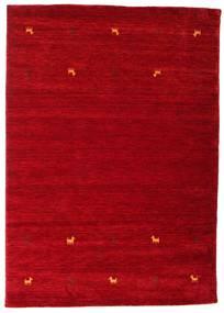 Γκάμπεθ Loom Two Lines - Κόκκινα Χαλι 160X230 Σύγχρονα Kόκκινα/Σκούρο Κόκκινο (Μαλλί, Ινδικά)