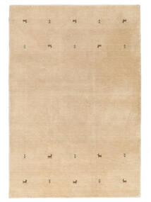 Γκάμπεθ Loom Two Lines - Μπεζ Χαλι 160X230 Σύγχρονα Σκούρο Μπεζ/Ανοιχτό Καφέ (Μαλλί, Ινδικά)