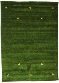 Γκάμπεθ Loom Two Lines - Λαδί Χαλι 160X230 Σύγχρονα Σκούρο Πράσινο (Μαλλί, Ινδικά)
