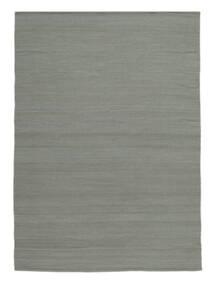 Κιλίμ Loom - Γκρι Χαλι 200X300 Σύγχρονα Χειροποίητη Ύφανση Ανοιχτό Γκρι (Μαλλί, Ινδικά)