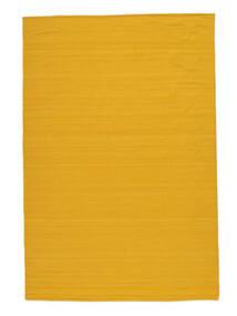 Κιλίμ Loom - Yellow Χαλι 160X230 Σύγχρονα Χειροποίητη Ύφανση Πορτοκαλί (Μαλλί, Ινδικά)