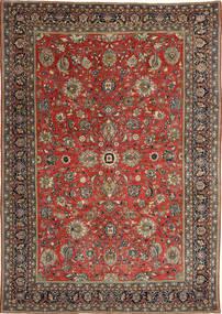 Sarough Πατίνα Χαλι 236X347 Ανατολής Χειροποιητο Σκούρο Κόκκινο/Σκούρο Γκρι (Μαλλί, Περσικά/Ιρανικά)