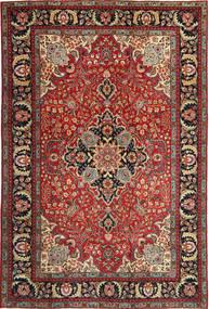 Tabriz Πατίνα Χαλι 205X305 Ανατολής Χειροποιητο Σκούρο Κόκκινο/Σκούρο Καφέ (Μαλλί, Περσικά/Ιρανικά)