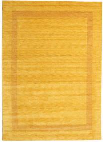 Χειροκίνητου Αργαλειού Gabba - Χρυσό Χαλι 240X340 Σύγχρονα Κίτρινος/Πορτοκαλί (Μαλλί, Ινδικά)