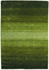 Γκάμπεθ Rainbow - Λαδί Χαλι 140X200 Σύγχρονα Σκούρο Πράσινο/Λαδί (Μαλλί, Ινδικά)