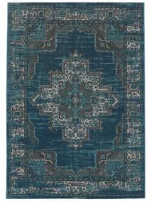Βιντάζ Vega - Petrol/Turquoise Χαλι 160X230 Σύγχρονα Σκούρο Μπλε/Μπλε ( Τουρκικά)