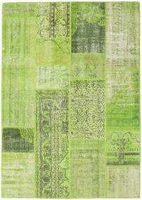Patchwork Χαλι 160X228 Σύγχρονα Χειροποιητο Ανοιχτό Πράσινο/Λαδί (Μαλλί, Τουρκικά)