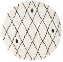 Σάγκι Zanjan - Υπόλευκο/Σκούρο Γκρι Χαλι Ø 200 Σύγχρονα Στρογγυλο Μπεζ/Ανοιχτό Γκρι ( Τουρκικά)