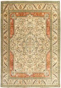 Tabriz Πατίνα Χαλι 270X379 Ανατολής Χειροποιητο Σκούρο Μπεζ/Μπεζ/Ανοιχτό Καφέ Μεγαλα (Μαλλί, Περσικά/Ιρανικά)