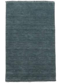 Χειροκίνητου Αργαλειού Fringes - Deep Petrol Χαλι 160X230 Σύγχρονα Μπλε (Μαλλί, Ινδικά)