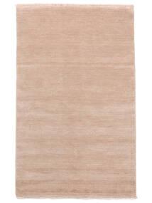 Χειροκίνητου Αργαλειού Fringes - Soft Rose Χαλι 140X200 Σύγχρονα Ανοιχτό Ροζ/Μπεζ (Μαλλί, Ινδικά)