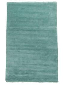 Χειροκίνητου Αργαλειού Fringes - Aqua Χαλι 160X230 Σύγχρονα Τυρκουάζ Μπλε/Σκούρο Τυρκουάζ (Μαλλί, Ινδικά)