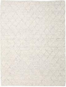 Rut - Ice Grey Melange Χαλι 250X350 Σύγχρονα Χειροποίητη Ύφανση Ανοιχτό Γκρι/Σκούρο Μπεζ Μεγαλα (Μαλλί, Ινδικά)