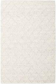 Rut - Ice Grey Melange Χαλι 200X300 Σύγχρονα Χειροποίητη Ύφανση Λευκό/Κρεμ/Σκούρο Μπεζ/Μπεζ (Μαλλί, Ινδικά)