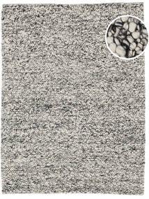 Bubbles - Melange Γκρι Χαλι 200X300 Σύγχρονα Ανοιχτό Γκρι/Τυρκουάζ Μπλε (Μαλλί, Ινδικά)