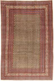 Arak Πατίνα Χαλι 212X320 Ανατολής Χειροποιητο Σκούρο Κόκκινο/Ανοιχτό Καφέ (Μαλλί, Περσικά/Ιρανικά)