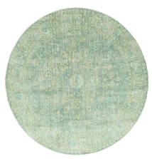 Maharani - Λαδί Χαλι Ø 150 Σύγχρονα Στρογγυλο Παστέλ Πράσινο ( Τουρκικά)