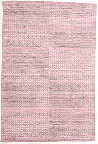 Alva - Ροζ/White Χαλι 160X230 Σύγχρονα Χειροποίητη Ύφανση Ανοιχτό Ροζ/Ανοικτό Μωβ (Μαλλί, Ινδικά)