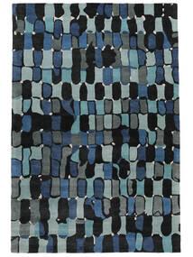 In The Woods - 2018 Χαλι 250X350 Σύγχρονα Σκούρο Μπλε/Μπλε Μεγαλα ( Ινδικά)