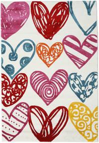 Sweethearts Χαλι 140X200 Σύγχρονα Μπεζ/Ροζ ( Τουρκικά)