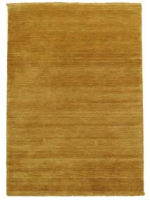 Χειροκίνητου Αργαλειού Fringes - Yellow Χαλι 140X200 Σύγχρονα Ανοιχτό Καφέ/Κίτρινος (Μαλλί, Ινδικά)