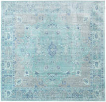 Maharani - Μπλε Χαλι 200X200 Σύγχρονα Τετράγωνο Ανοικτό Μπλε/Τυρκουάζ Μπλε ( Τουρκικά)