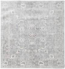 Maharani - Γκρι Χαλι 150X150 Σύγχρονα Τετράγωνο Ανοιχτό Γκρι ( Τουρκικά)