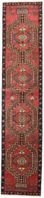 Ardebil Πατίνα Χαλι 81X385 Ανατολής Χειροποιητο Χαλι Διαδρομοσ Σκούρο Κόκκινο/Μαύρα (Μαλλί, Περσικά/Ιρανικά)