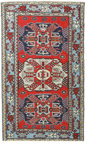 Ardebil Πατίνα Χαλι 118X196 Ανατολής Χειροποιητο Σκούρο Μπλε/Ανοιχτό Καφέ (Μαλλί, Περσικά/Ιρανικά)