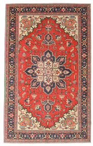 Heriz Πατίνα Χαλι 164X265 Ανατολής Χειροποιητο Σκούρο Γκρι/Στο Χρώμα Της Σκουριάς (Μαλλί, Περσικά/Ιρανικά)
