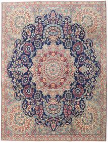 Kerman Πατίνα Χαλι 230X305 Ανατολής Χειροποιητο Ανοιχτό Γκρι/Σκούρο Μπεζ (Μαλλί, Περσικά/Ιρανικά)