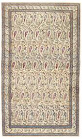 Kerman Πατίνα Χαλι 85X147 Ανατολής Χειροποιητο Μπεζ/Ανοιχτό Γκρι (Μαλλί, Περσικά/Ιρανικά)