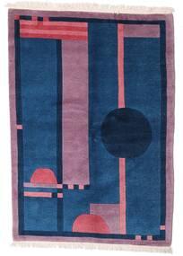 Himalaya Χαλι 140X197 Σύγχρονα Χειροποιητο Σκούρο Μπλε/Ροζ (Μαλλί, Ινδικά)