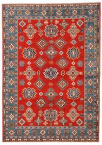 Kazak Χαλι 169X238 Ανατολής Χειροποιητο Στο Χρώμα Της Σκουριάς/Ανοιχτό Καφέ (Μαλλί, Αφγανικά)
