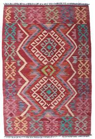 Κιλίμ Afghan Old Style Χαλι 99X151 Ανατολής Χειροποίητη Ύφανση Σκούρο Κόκκινο/Μωβ (Μαλλί, Αφγανικά)