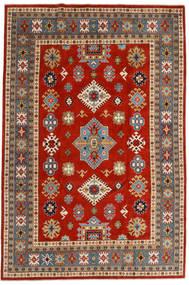 Kazak Χαλι 203X301 Ανατολής Χειροποιητο Στο Χρώμα Της Σκουριάς/Μπλε (Μαλλί, Αφγανικά)