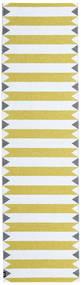 Circus - Yellow Χαλι 70X250 Σύγχρονα Χαλι Διαδρομοσ Μπεζ/Κίτρινος ( Σουηδία)
