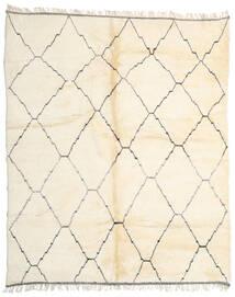 Berber Moroccan - Beni Ourain Χαλι 274X330 Σύγχρονα Χειροποιητο Μπεζ/Λευκό/Κρεμ Μεγαλα (Μαλλί, Marocco)